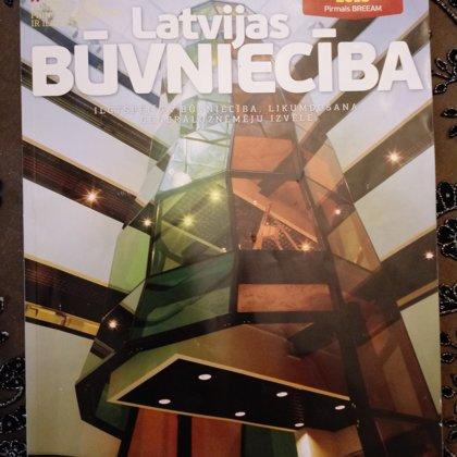 """žurnāls """"Latvijas Būvniecība"""" 2015 janvāris/februāris Nr. 1 """"Atgriežoties Aspazijas mājā"""""""