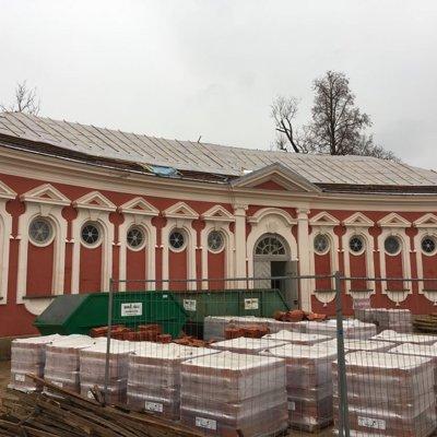 Rundāles pils muzeja staļļu ēkas Nr. 2 jumta seguma nomaiņa