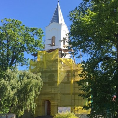 Saulkrastu baznīcas restaurācija
